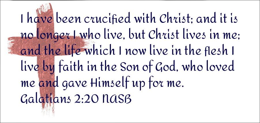 Crucified with Christ - Kudos! Ministry