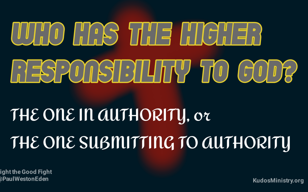 Godly authority and submission
