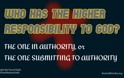 Government Authority and Citizen Submission | Who has the Higher Responsibility?