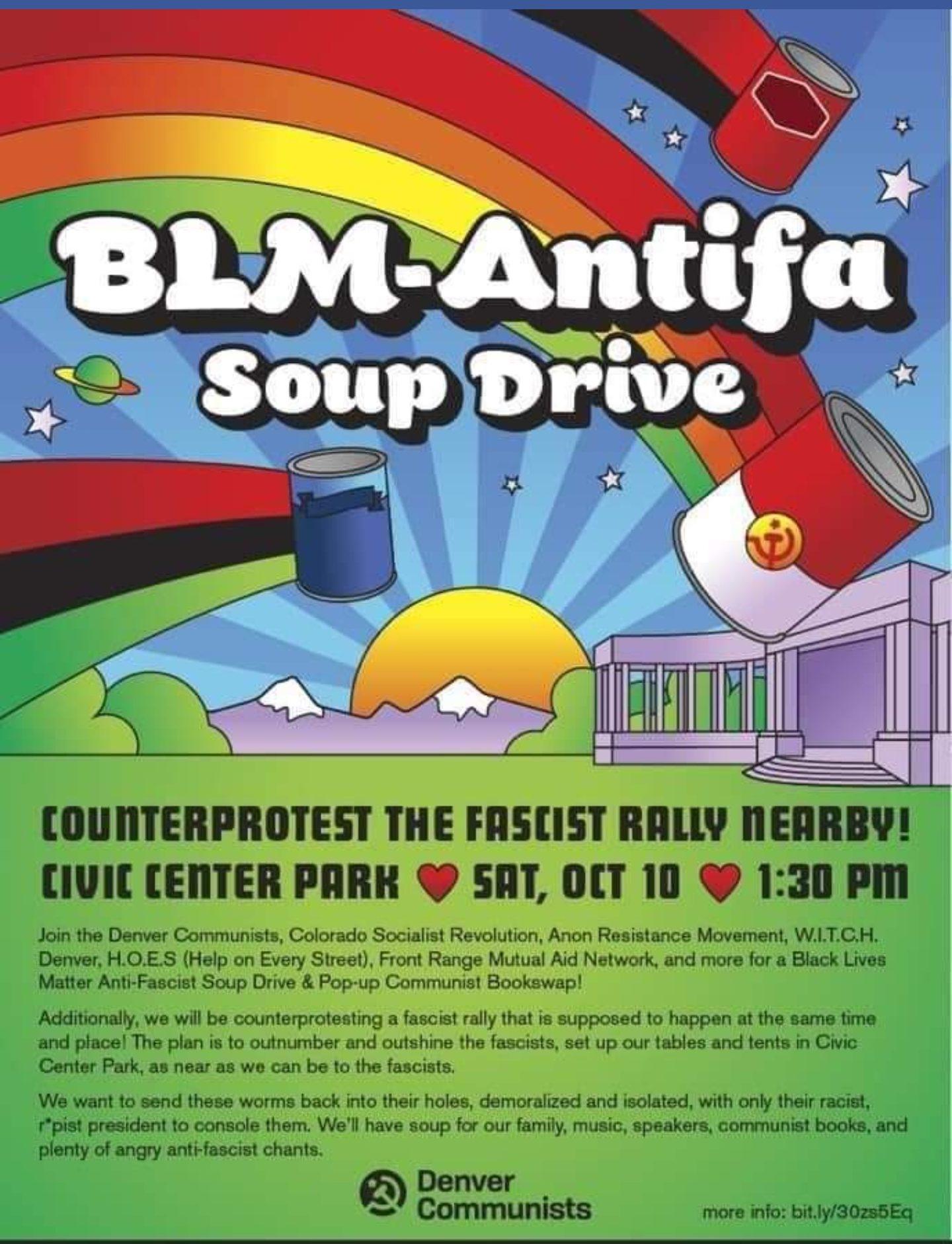 BLM-Antifa Violence